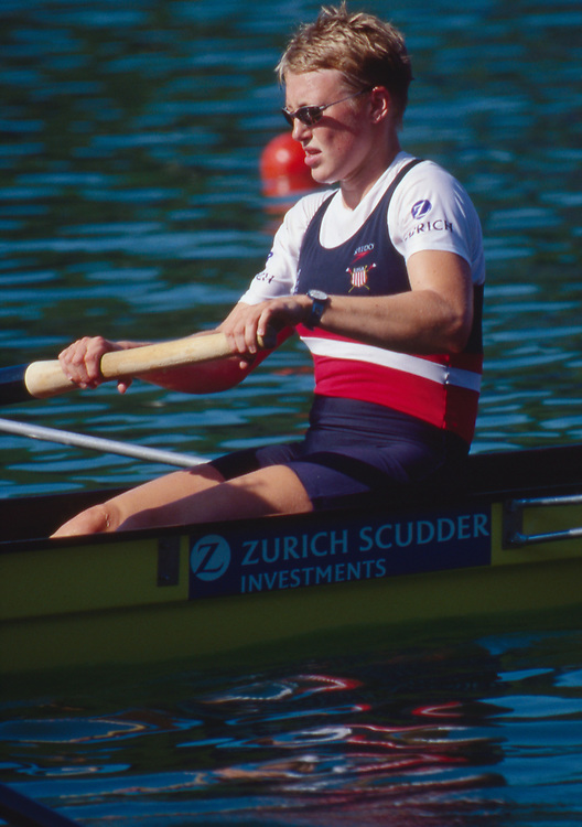 US Women's Eight, Lucerne, Switzerland, FISA 2001 World Rowing Championships, Kate Ronkainen, 7 seat, US W8+,  Lucerne Rotsee,