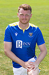 James Brown, St Johnstone FC...2021-22 Season<br />Picture by Graeme Hart.<br />Copyright Perthshire Picture Agency<br />Tel: 01738 623350  Mobile: 07990 594431