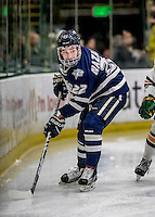10 February 2017: University of New Hampshire Wildcat Forward Ara Nazarian, a Sophomore from Boxford, MA, in first period action against the University of Vermont Catamounts at Gutterson Fieldhouse in Burlington, Vermont. The Wildcats came from behind to defeat the Catamounts 4-2 in the first game of their 2-game Hockey East Series. Mandatory Credit: Ed Wolfstein Photo *** RAW (NEF) Image File Available ***