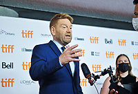 "12 September 2021 - Toronto, Ontario, Canada - Kenneth Branagh. 2021 Toronto International Film Festival - ""Belfast"" Premiere held at Roy Thomson Hall. Photo Credit: Brent Perniac/AdMedia"