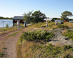 Exploring Harbor on Island of Kökar, Åland, Finland
