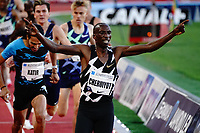 9th July 2021, Monaco, France; Diamond League Athletics, Herculis meeting, Monaco; Timothy Cheruiyot Kenya 1500m