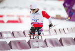 Sochi, RUSSIA - Mar 9 2014 -  Yves Bourque in Men's Cross Country 15km Sitting during the 2014 Paralympic Winter Games in Sochi, Russia.  (Photo: Matthew Murnaghan/Canadian Paralympic Committee)