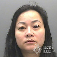 """Pictured: Vi Thi Thu Thuy<br /> Re: The ringleaders of a Vietnamese crime gang have been jailed after police seized 2.5 tonnes of cannabis worth about £6m in raids across south Wales.<br /> A total of 21 people have been sentenced in a case going back to 2017 after dozens of cannabis factories were uncovered across the region and beyond.<br /> One of the defendants initially claimed to be 14 years old, but police proved he was actually aged 26.<br /> The gang leaders were sentenced at Merthyr Tydfil Crown Court on Friday.<br /> Bang Xuan Luong, 44, was sentenced to eight years in prison. His partner, 42-year-old Vu Thi Thu Thuy, was jailed for six years and Tuan Anh Pham, 20, who was described in court as the """"IT Man"""", received five years.<br /> An investigation into a cannabis factory in the Cynon Valley led officers from South Wales Police's Force Intelligence and Organised Crime Unit (FIOCU) to a string of others across south Wales, Gwent and Dyfed-Powys force areas."""