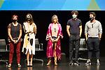 La Casa del Caracol cast during press conference after the end of filiming 'La Casa del Caracol' at Malaga Film Festival 2020 August 23 2020. (Alterphotos/Francis González)