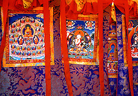 Thangka designs Tibet