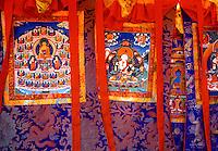 Thangka designs Tibet