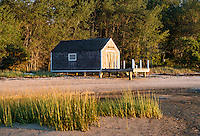 Pleasant Bay boathouse, Chatham, Cape Cod, Massachusetts, USA