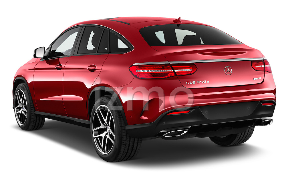 Car pictures of rear three quarter view of 2016 Mercedes Benz GLE-Coupe - 5 Door Suv Angular Rear