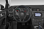 Car pictures of steering wheel view of a 2015 Volkswagen Beetle 1.8T Conv. auto 2 Door Convertible