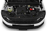 Car Stock 2021 Ford Bronco-Sport Base 5 Door SUV Engine  high angle detail view