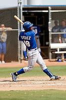 Salvador Perez - Kansas City Royals - 2009 spring training.Photo by:  Bill Mitchell/Four Seam Images
