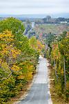 Fall foliage in Eastbrook, Maine, USA