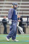 Baltimore- February 4: Goal Kepper Austin Kaut of Penn State during the exhibition between Johns Hopkins and Penn State at Homewood Field on February 04, 2012 in Baltimore, MD.