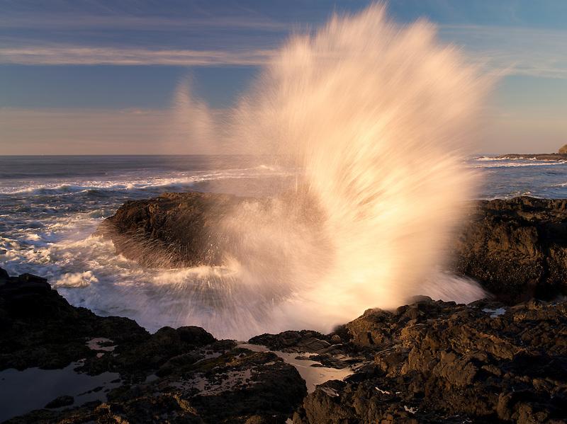 Waves at Cape Perpetua. Oregon