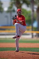 Boston Red Sox pitcher Hunter Smith (51) during a Minor League Spring Training game against the Tampa Bay Rays on March 25, 2019 at the Charlotte County Sports Complex in Port Charlotte, Florida.  (Mike Janes/Four Seam Images)