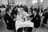 - Italian Navy, Vittorio Veneto cruiser, non-commissioned officers mess (May 1984)<br /> <br /> - Marina Militare Italiana, incrociatore Vittorio Veneto, mensa sottuficiali (Maggio 1984)