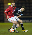 Deveronvale's Connor Rennie holds off Raith's David Smith ...