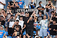 Napoli supporters during the Serie A football match between SSC Napoli and Juventus FC at Diego Armando Maradona stadium in Napoli (Italy), September 11th, 2021. Photo Andrea Staccioli / Insidefoto