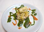 Ravioli, Pan E Vino Restaurant, Florence, Tuscany, Italy