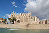 Cathedral Santa María de Palma de Mallorca (1229-1346) with the lagoon Parc de la Mar<br /> <br /> Catedral de Santa María de Palma de Mallorca (La Seu, cat.: Sa Seo) (1229-1346) con el Parc de la Mar<br /> <br /> Kathedrale Santa María de Palma de Mallorca (1229-1346) mit dem Meerespark<br /> <br /> 3008 x 2000 px<br /> 150 dpi: 50,94 x 33,87 cm<br /> 300 dpi: 25,47 x 16,93 cm