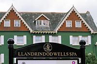 General view of Llandrindod Wells in Powys, mid Wales, UK