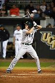 Siena Saints pinch hitter Ben Rhodes (18) during a game against the UCF Knights on February 17, 2017 at UCF Baseball Complex in Orlando, Florida.  UCF defeated Siena 17-6.  (Mike Janes/Four Seam Images)