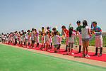 JUN 1,2014:Ceremony for jockeys before  Tokyo Yushun (Japanese Derby) at Tokyo in Tokyo, Japan. Kazushi Ishida/ESW/CSM