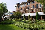 Venice Italy 2009. Cipriani Hotel gardens.