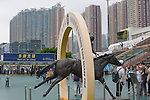 SHA TIN,HONG KONG-MAY 01:  Sha Tin Racecourse on May 01,2016 in Sha Tin,New Territories,Hong Kong (Photo by Kaz Ishida/Eclipse Sportswire/Getty Images)