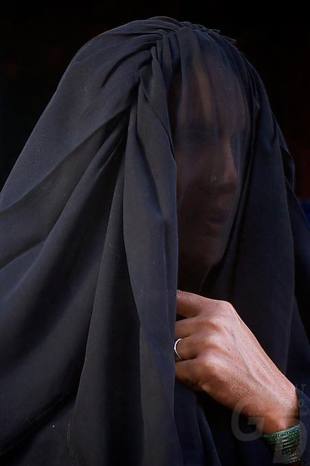 Muslim women in Bikaner Rajasthan India