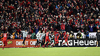 Toronto, Ontario - Saturday December 09, 2017: Jozy Altidore celebrates scoring the game's first goal. Toronto FC defeated the Seattle Sounders FC 2-0 in MLS Cup 2017, Major League Soccer's (MLS) championship game played at BMO Field.