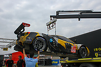 #66 JMW MOTORSPORT GBR/LMGTE Am Ferrari 488 GTE EVO Thomas Neubauer (FRA)/Rodrigo Sales (USA)/Jody Fannin (GBR)
