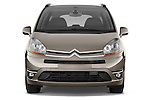Straight front view of a 2010 Citroen GRAND C4 PICASSO Millenium 5 Door Minivan 2WD