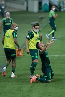 São Paulo (SP), 13/09/2020 - Palmeiras-Sport - Willian,  do Palmeiras comemora seu gol, em partida contra o Sport, válida pela 10ª rodada do Campeonato Brasileiro 2020, no Allianz Parque, em São Paulo (SP), neste domingo (13).