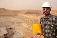Arlit, Niger.  Open-pit Uranium mine, Chief Geologist.