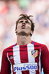 Antonie Griezmann of Atletico Madrid reacts during their La Liga match between Atletico Madrid and Deportivo de la Coruna at the Vicente Calderon Stadium on 25 September 2016 in Madrid, Spain. Photo by Diego Gonzalez Souto / Power Sport Images
