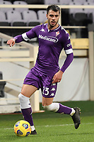 Lorenzo Venuti of ACF Fiorentina in action during the Italy Cup round of 16 football match between ACF Fiorentina and FC Internazionale at Artemio Franchi stadium in Firenze (Italy), January 13th, 2021. Photo Andrea Staccioli / Insidefoto