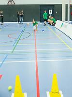Rotterdam, Netherlands, December 16, 2017, Topsportcentrum, Ballkids selection day for ABNAMROWTT 2018,  <br /> Photo: Tennisimages/Henk Koster