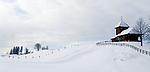 Schweiz, Kanton Schwyz, Kuessnacht: Kirche auf der Seebodenalp - 1000 m über dem Meer - ein beliebtes Ausflugs- und Wanderziel auch im Winter | Switzerland, Canton Schwyz, Kuessnacht: church at Seebodenalp, popular place of excursions and hiking