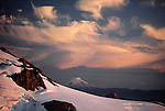 Mt. St. Helens as seen from Mt. Rainier, Washington, USA