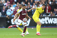 Said Benrahma of West Ham in action during West Ham United vs Brentford, Premier League Football at The London Stadium on 3rd October 2021
