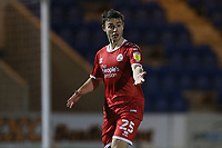 Nicholas Tsaroulla of Crawley Town during Colchester United vs Crawley Town, Sky Bet EFL League 2 Football at the JobServe Community Stadium on 1st December 2020