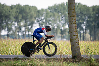 Cristopher Miranda (PAN)<br /> <br /> Junior Men Individual Time Trial from Knokke-Heist to Bruges (22.3 km)<br /> <br /> UCI Road World Championships - Flanders Belgium 2021<br /> <br /> ©kramon
