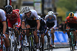 The 2nd group including Georg Zimmermannn (GER) climbs Parliment Street on the Harrogate circuit during the Men U23 Road Race of the UCI World Championships 2019 running 186.9km from Doncaster to Harrogate, England. 27th September 2019.<br /> Picture: Eoin Clarke | Cyclefile<br /> <br /> All photos usage must carry mandatory copyright credit (© Cyclefile | Eoin Clarke)