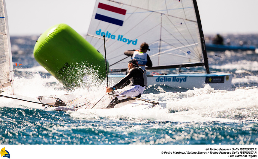 From 24th March to 1st April the bay of Palma  host the 48th edition of the Trofeo Princesa Sofia IBEROSTAR, one of the most important Olympic Classes regatta in the world. Around a 800 sailors from 45 nations will meet in Mallorca to start the Olympic path towards Tokyo 2020, in one of the most international sports event and with a higher participation in Spain. Image free of editorial rights. ©Pedro Martinez / Sailing Energy / Trofeo Princesa Sofía IBEROSTAR