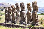 Moai, Ahu A Kivi