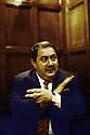France 2003.Paris, hotel Raphael: Hoshyar Zibari, ministre irakien des Affaires Etrangeres.France 2003.Paris, Hotel Raphael, Hoshyar Zibari , Iraki minister of Foreign Affairs