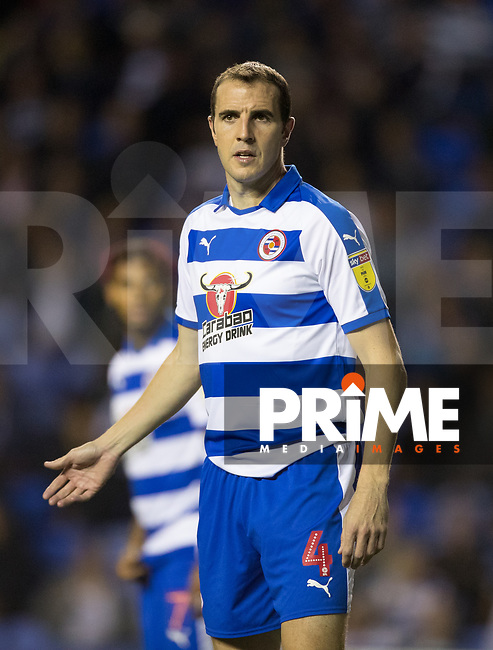 John O'Shea of Reading during the Carabao Cup Round 2 match between Reading and Watford at the Madejski Stadium, Reading, England on 29 August 2018. Photo by Andy Rowland
