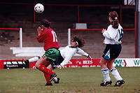 Match action during England Women vs Portugal Women, European Championship Qualifying Football at Griffin Park, Brentford FC on 19th May 1996
